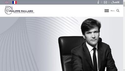 Site internet de SELARL du Docteur Paillard