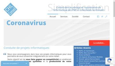 Site internet de Chl Conseil
