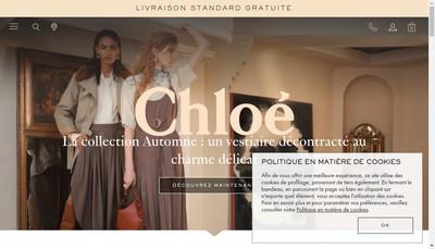 Site internet de Chloe
