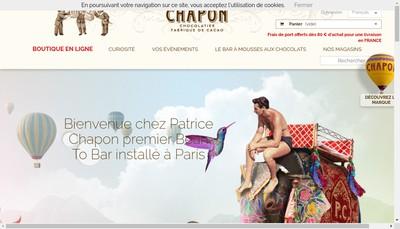 Site internet de Chapon