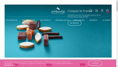 Site internet de De Neuville