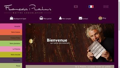 Site internet de Patisserie Chocolaterie Pralus