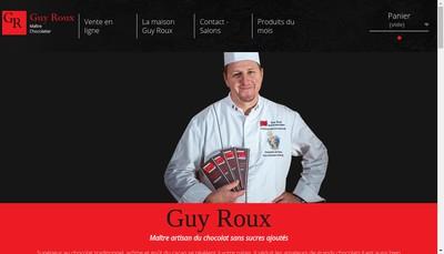Site internet de Guy Roux - Chocolats Sans Sucres