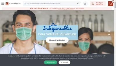 Site internet de Chomette Favor