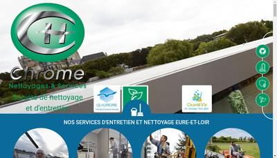Site internet de Chatelain Nettoyage et Services