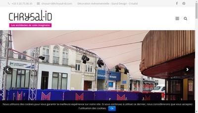 Site internet de Chrysal'Id