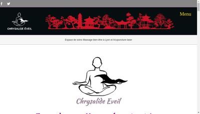Site internet de Chrysalide Eveil