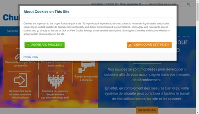 Site internet de Smc
