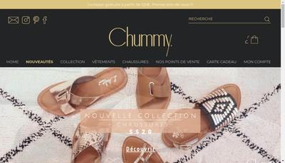 Site internet de Chummy