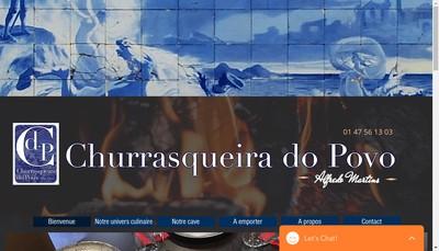 Site internet de Churrasqueiro Do Povo