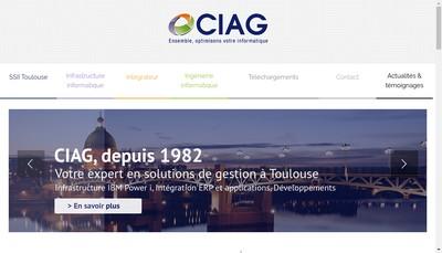 Site internet de CIAG
