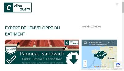 Site internet de Ciba Ouary