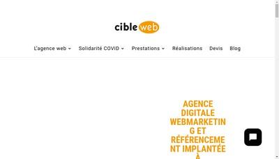 Site internet de Cibleweb