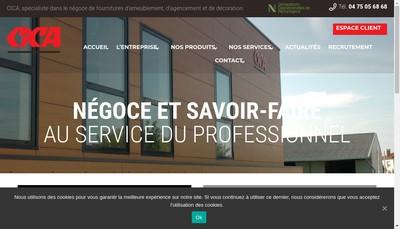 Site internet de Cica