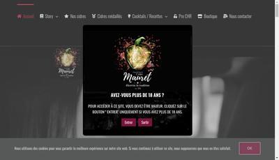 Site internet de Mauret