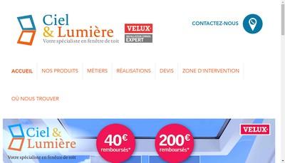 Site internet de Ciel et Lumiere
