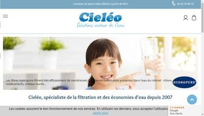 Site internet de Cieleo