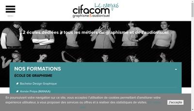 Site internet de Cifacom