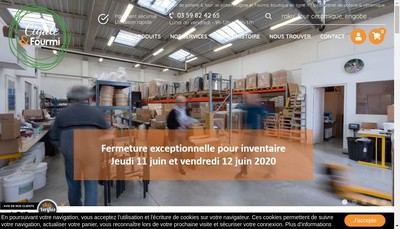Site internet de Cigale et Fourmi