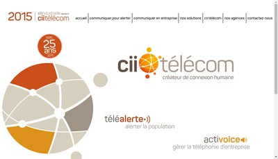 Site internet de Cii