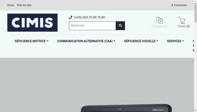 Site internet de Cimis
