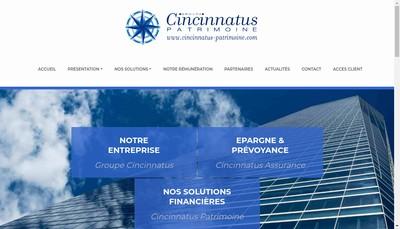 Site internet de Cincinnatus Financement