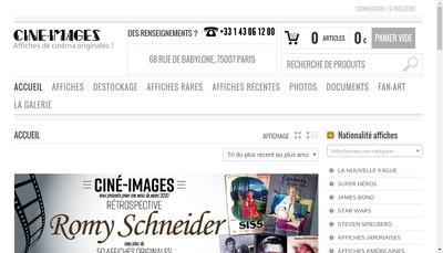 Site internet de Societe Cine-Image