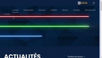 Site internet de Tacc
