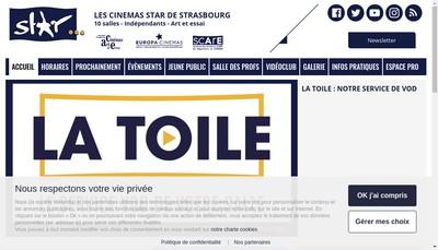 Site internet de Cinema le Star