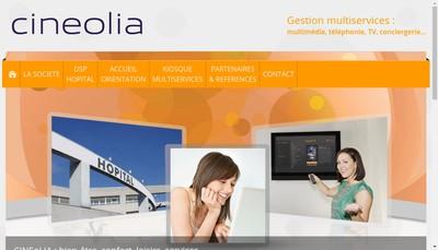 Site internet de Cineolia