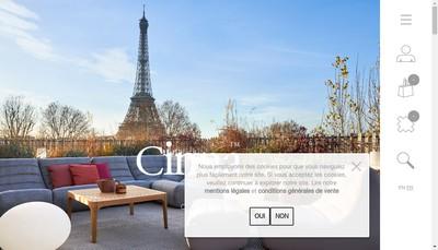 Site internet de Cinna