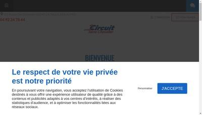 Site internet de Circuit de Serre Chevalier