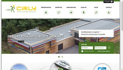 Site internet de Cirly