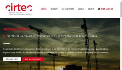 Site internet de Cirtec