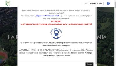 Site internet de Cit Loisirs Cit Business