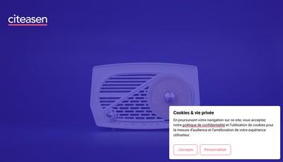 Site internet de Citeasen