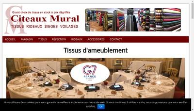 Site internet de Citeaux Mural