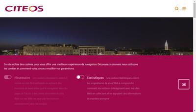 Site internet de Citeos