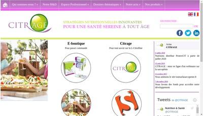 Site internet de Citrage