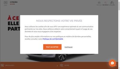 Site internet de Somuva-Masselco-Autoparck