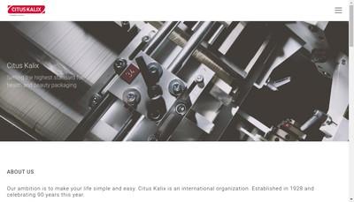 Site internet de Citus Kalix