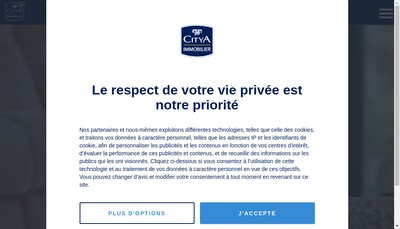 Site internet de Citya Lamartine