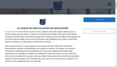Site internet de Urbania Paris