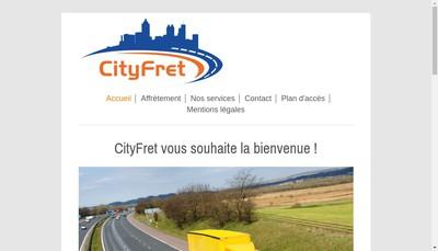 Site internet de Cityfret