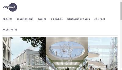 Site internet de Citynove Asset Management