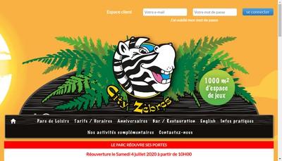 Site internet de City Zebres