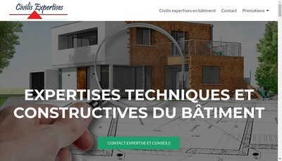 Site internet de Civilis Expertises
