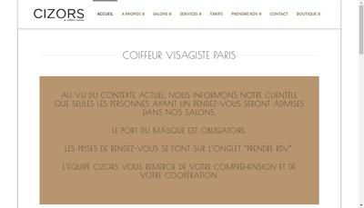 Site internet de Cizor'S