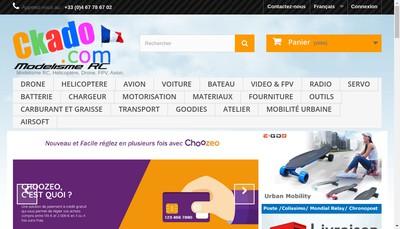 Site internet de Ckado Com