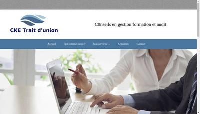 Site internet de Cke Trait d'Union